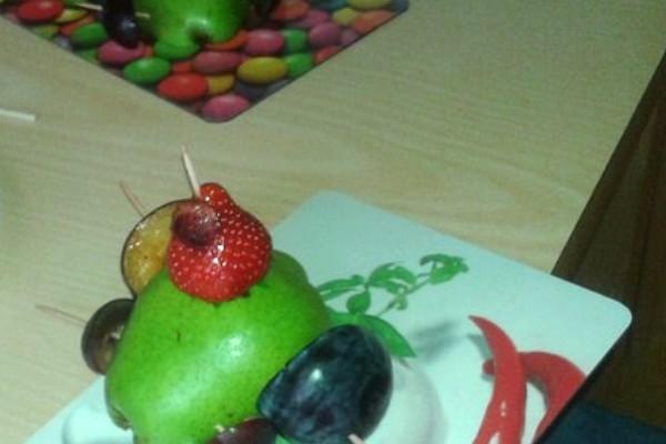 Wackelzahnprojekt im Kindergarten – Obst-Rennauto